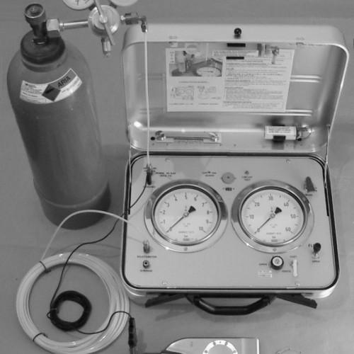 DMT Marchetti Ausrüstung mit Stickstoffflasche