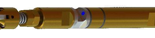 Gyro-Sonde mit kleinen Zentralizern