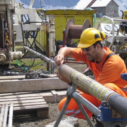Arbeit am Dilatometer nach einer Messung