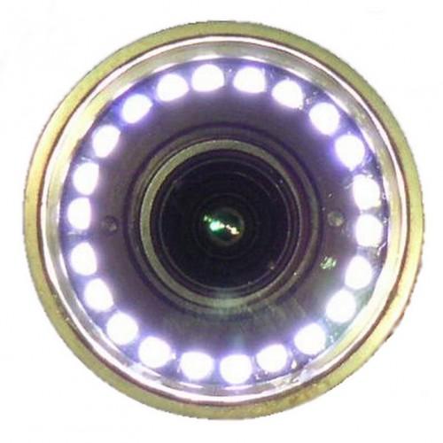Caméra de forage, tête axiale