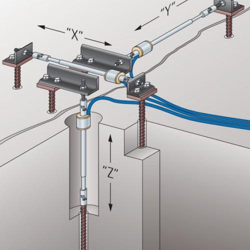 Crackmeter 4420, Schema für 3D-Montage
