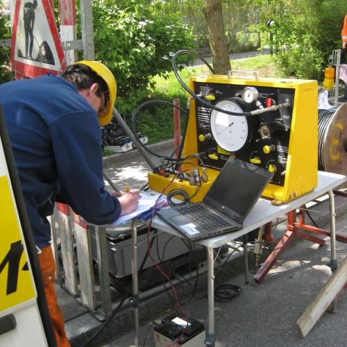 Controlpanel und Interface Unit für High Pressure Dilatometer