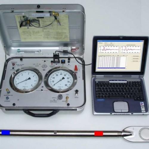 DMT Marchetti Ausrüstung mit Laptop